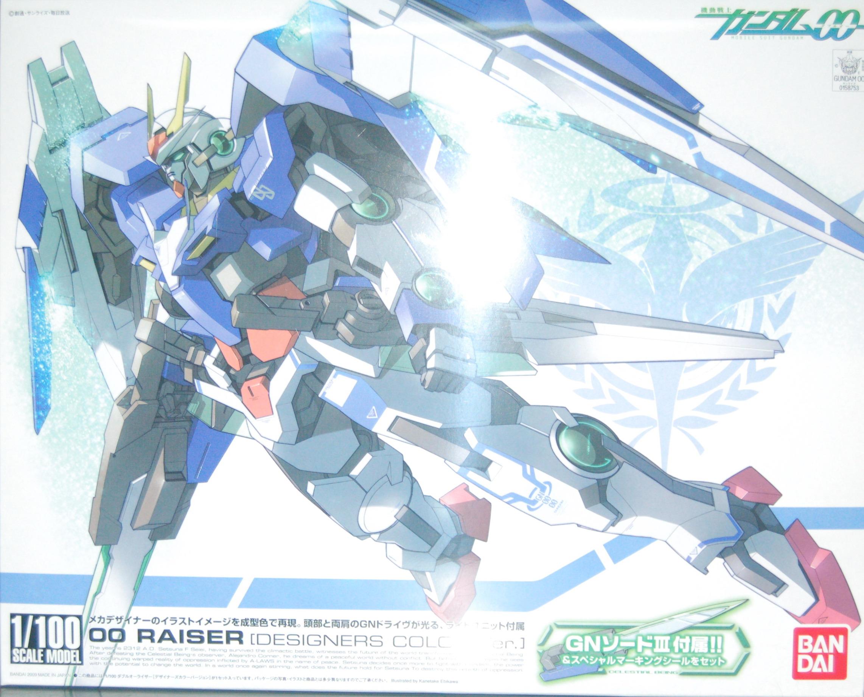 1/100 機動戰士鋼彈00-17 00 RAISER 設計師配色版
