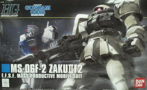 HGUC 107號 ZAKUIIF2 連邦軍