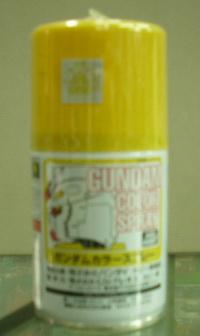 俊仕噴漆SG03 機體黃