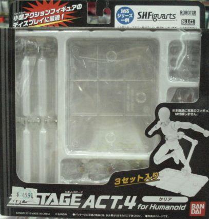 魂STAGE ACT.4 支架 透明版--缺貨
