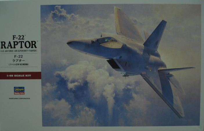 長谷川PT-45 1/48 F-22 RAPTOR