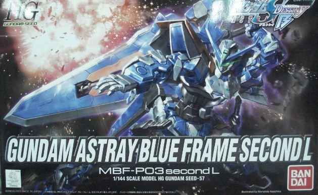 1/144 HG SEED-57 藍色異端2L