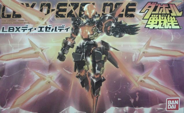 紙箱戰機 LBX053 D-EZELDEE--缺貨