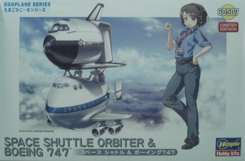 ��t60507 �J�� SPACE SHUTLE&�i��747