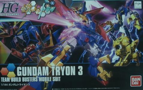創鬥鋼彈 HGBF038 泰倫3 特價500元 日幣2800☆