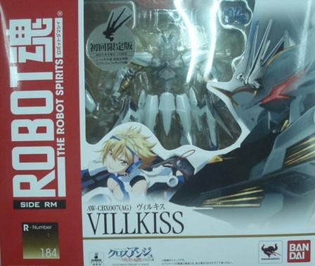 ROBOT魂184 天使與龍VILLKISS-日版