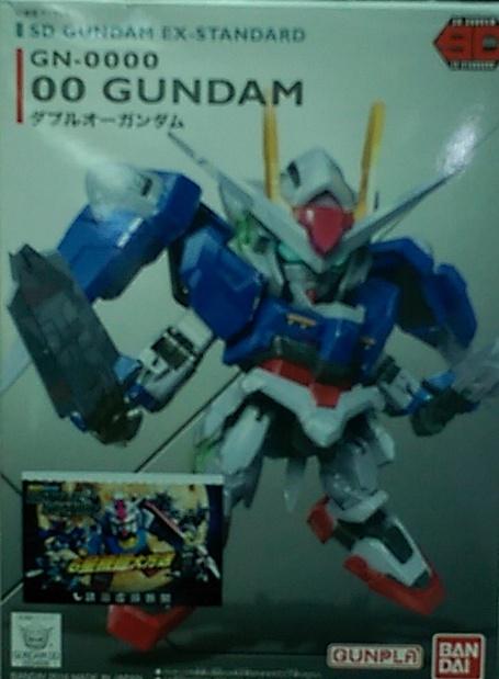 SD鋼彈 EX-008 00鋼彈