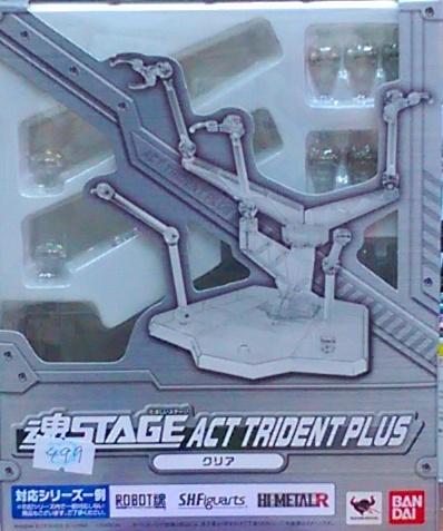 魂STAGE 5人用展示架-透明--