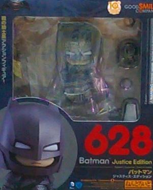 黏土人628 Q版裝甲蝙蝠俠