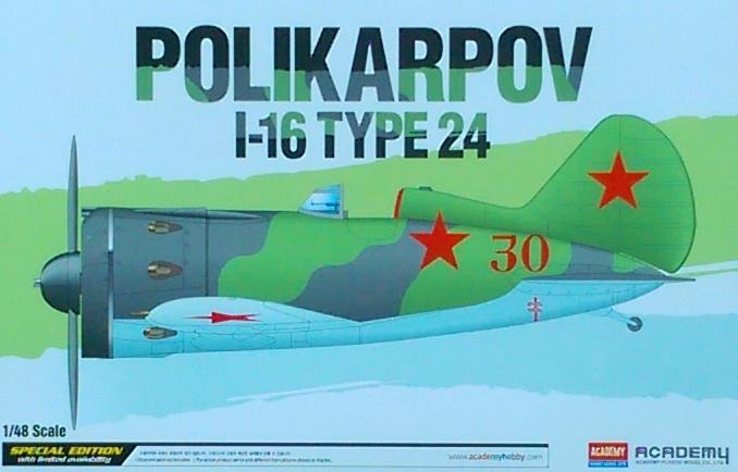 AC12314 1/48 POLIKARPOV I-16 TYPE24