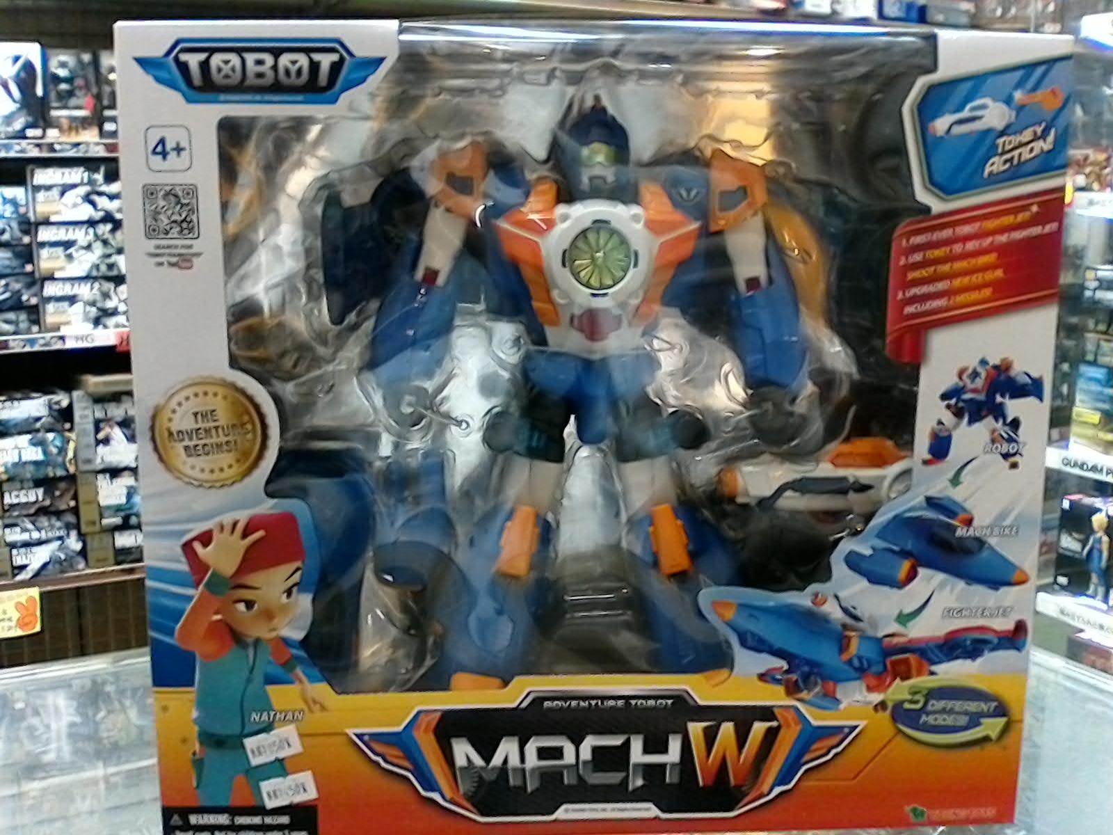 機器戰士TOBOT  mach W
