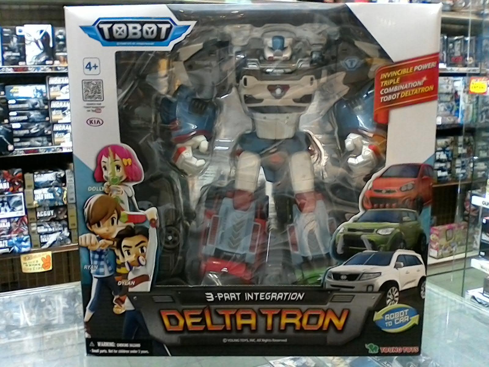 機器戰士TOBOT  DELTA TRON 3機合體