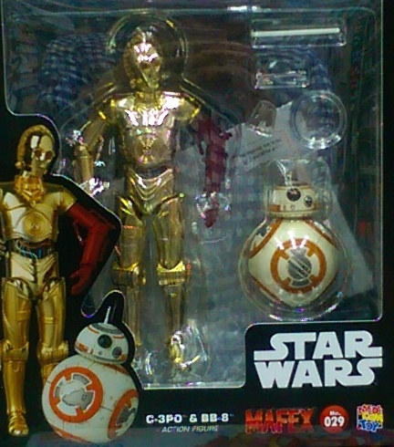 MAFEX029 星際大戰 C-3PO&BB-8 日版