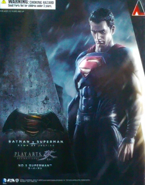 PLAYARTS改 蝙蝠俠VS.超人-超人
