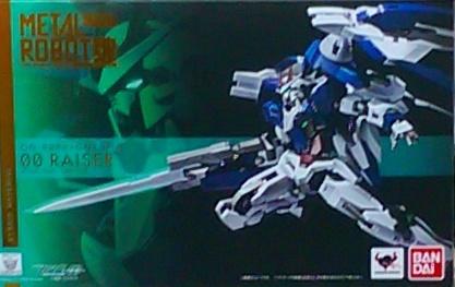 METAL ROBOT魂 00 RAISER+GN劍III