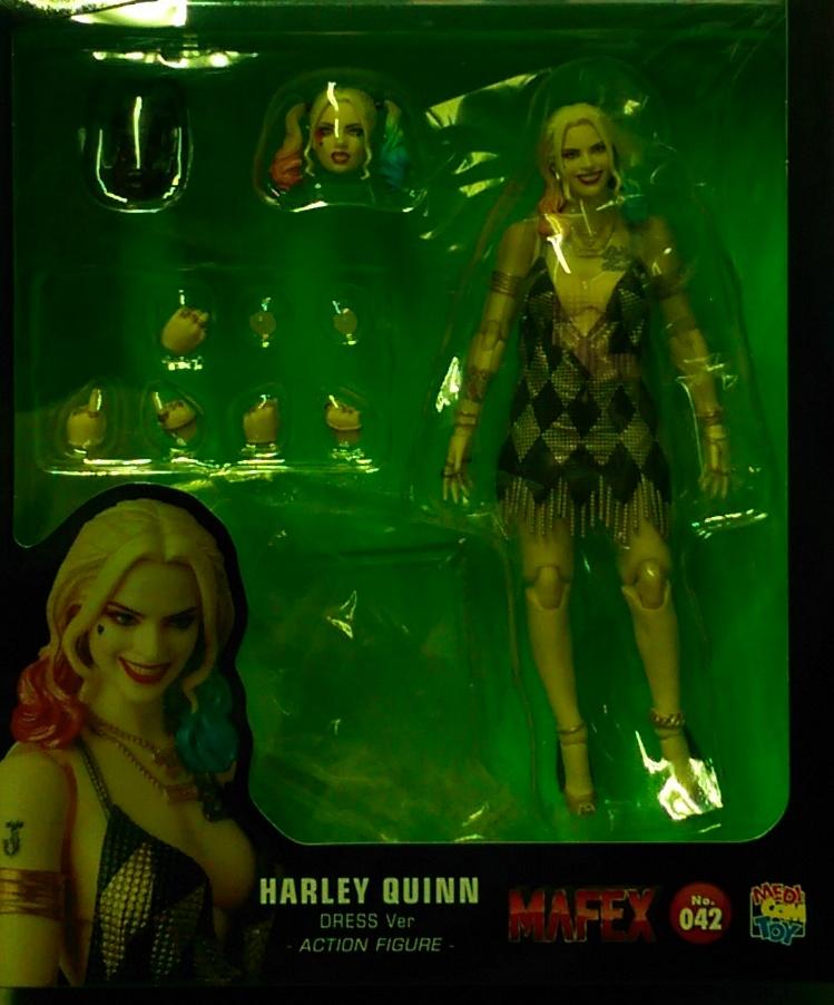 MAFEX042 小丑女 洋裝版 日版
