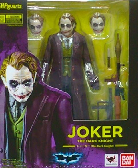 S.H.F 蝙蝠俠黑暗騎士-小丑