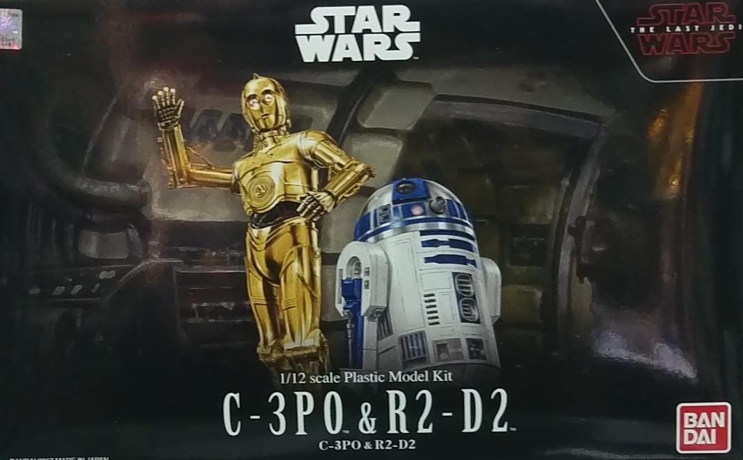 星際大戰 1/12 C-3PO & R2-D2(最後的絕地武士版)