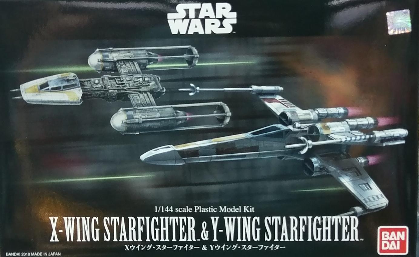 星際大戰 1/144 X翼星式戰鬥機&Y翼星式戰鬥機套組