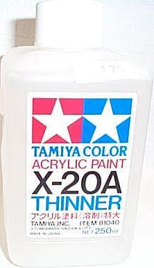 田宮TAMIYA X-20A水性溶劑 特大