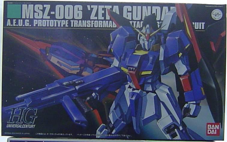 1/144 HGUC宇宙新世紀系列 41 MSZ-006 Z鋼彈