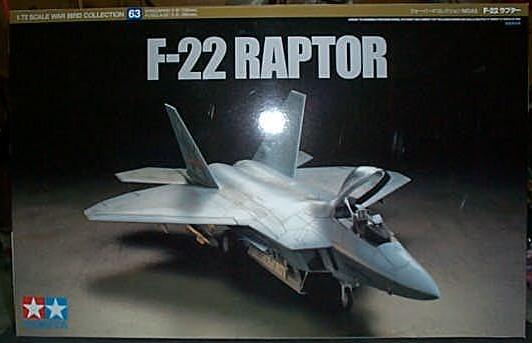 田宮模型F-22RAPTOR 60763