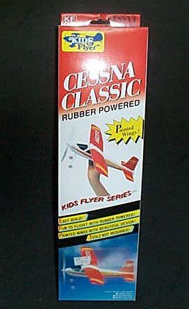 动力橡皮筋螺旋桨飞机