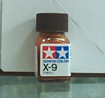 田宮油性漆 X9 棕-色(亮光)