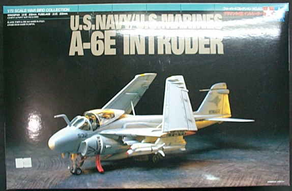 田宮TAMIYA 1/72飛機系列 NO.42 U.S.NAVY/U.S.MARINES A-6E INTRUDER