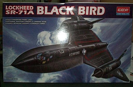 AC1627 SR-71A 黑鳥偵察機....缺貨中