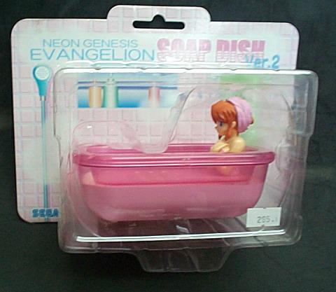 新世紀福音戰士SOAP DISH VER.2造型肥皂盒(紅色)