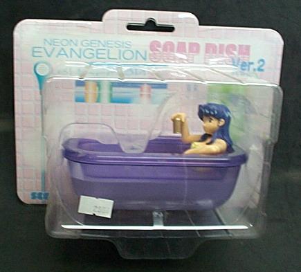 新世紀福音戰士SOAP DISH VER.2造型肥皂盒(紫色)