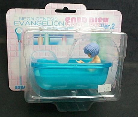 新世紀福音戰士SOAP DISH VER.2造型肥皂盒(藍色)