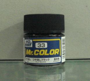 俊仕油性漆 NO.33 消光黑色(消光)