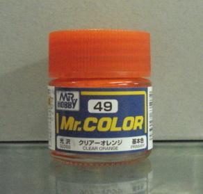 俊仕油性漆 NO.49 透明橙色(亮光)