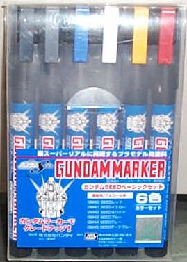 俊仕鋼彈套筆6入 GMS-109 (SEED專用色)