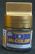 俊仕油性漆NO.9 GOLD 金色