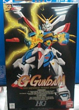 G鋼彈武鬥傳1/100系列 G-05 神威鋼彈