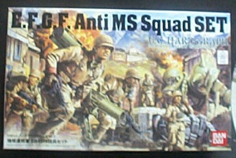 地球聯邦軍 對MS特技兵 1/35E.F.G.F---缺貨中