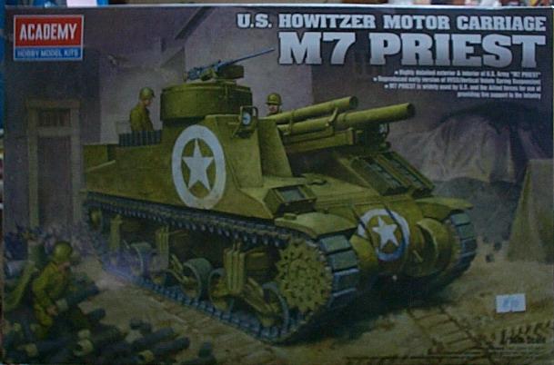 愛德美  No.13210   坦克車  M7 PRIEST