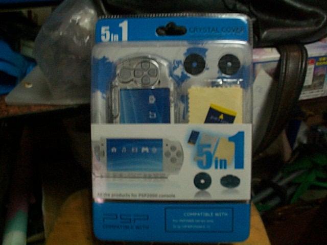 PSP配件5合1