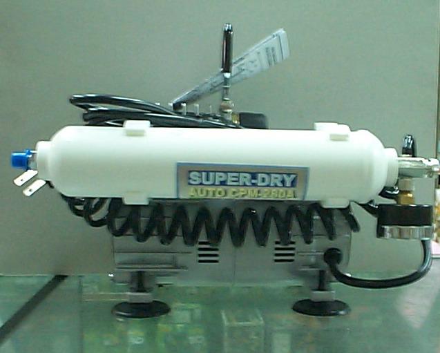 仙盈CPM-280A單管儲氣淨化空壓機+壓力表+調壓閥特價3500元